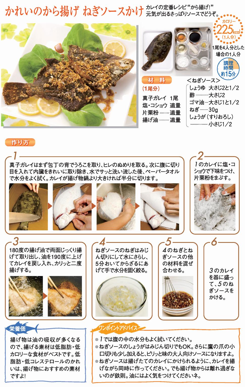 レシピ カレイ